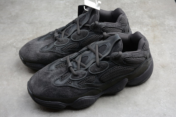 Adidas Yeezy Boost 500 Utility Black Men Women Shoes Sneakers F36640 Size 36-46 / 5-11.5
