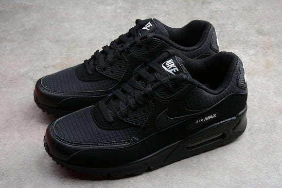 Nike AIR Max 90 Essential Black White Men Shoes Sneakers AJ1285-019