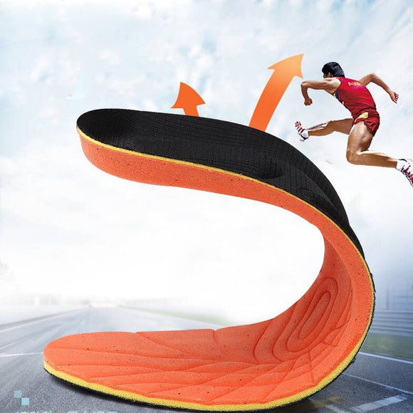 1pair/lot Stretch Breathable Deodorant Shoe Running Cushion Insoles Pad Insert - 88digital