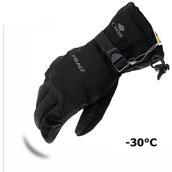 Men's Ski Gloves Snowboard Gloves Snowmobile Motorcycle Riding Winter Gloves Windproof Waterproof Unisex Snow Gloves - 88digital