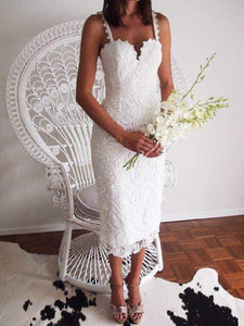 White / Black Party dress Sleeveless Lace Crochet Hollow Out - 88digital