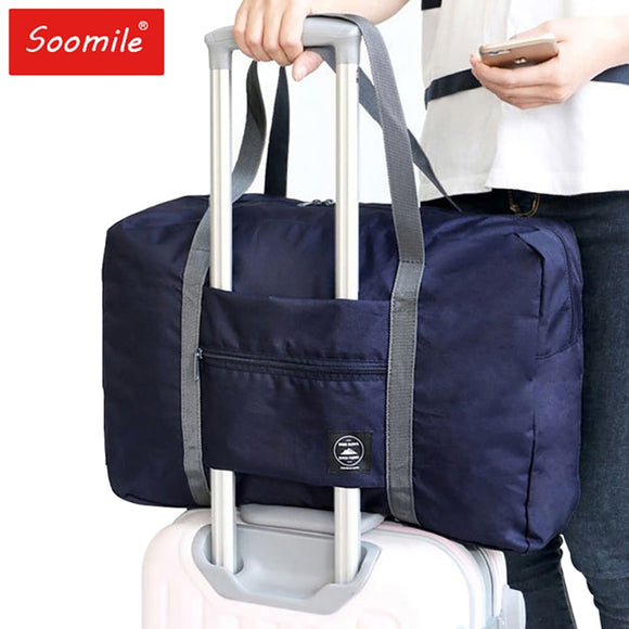 Nylon foldable travel bag unisex Large Capacity Bag Luggage Women WaterProof Handbags men travel bags - 88digital