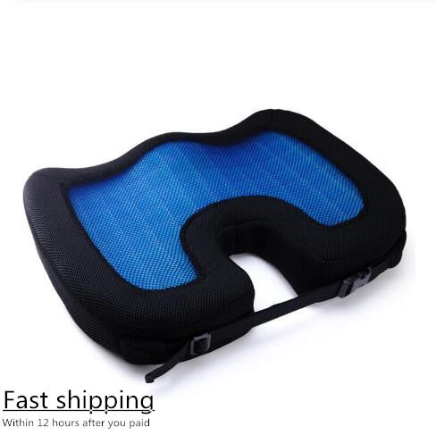 2019 Quality New Design U-Shape Silicone Gel Coccyx Protect Memory Foam Summer Cool Seat Office/Chair /Car/ Wheelchair  Cushion - 88digital