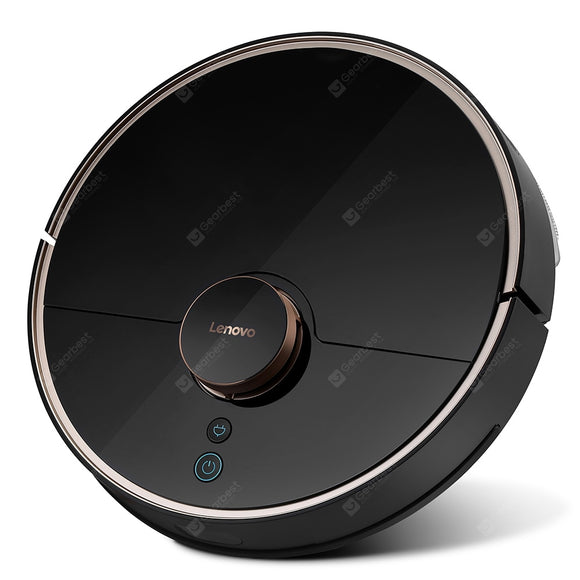 Lenovo X1 LDS Lidar Laser Navigation Wet and Dry 3200mAh Robot Vacuum Cleaner 55dB Low Noise 2200Pa Suction 585ml Dust Box Auto Recharge Resumption