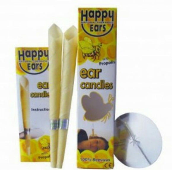 20PCS Ear Candles Coning 100% Beeswax Straight Natural Bee Wax Paraffin For Ear Therapy,  Ear Clean, Relaxation, Headache - 88digital