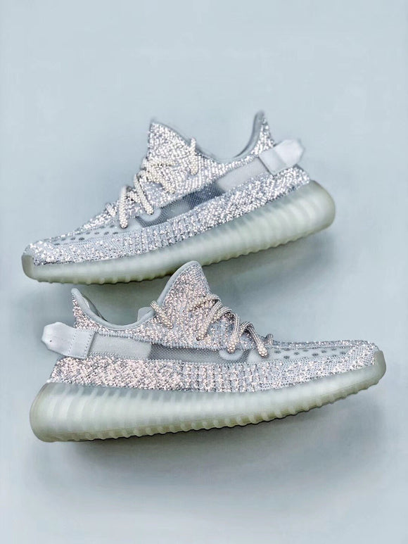 Adidas YEEZY BOOST 350 V2 Reflective Men's Women's Running Shoes Sneakers FW5317