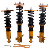 24 Ways Adj. Damper Shocks Coilovers Kits for Nissan Sentra B15 00-06  Shock Absorbers Coilovers Kits Lowering Coil Spring - 88digital