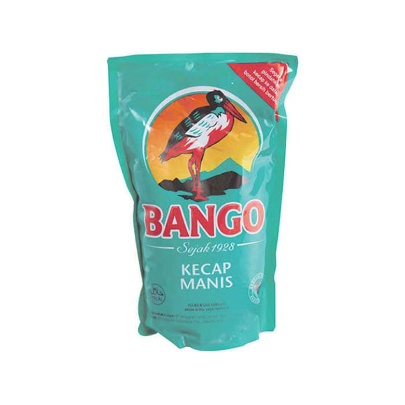 10 Bags of Indonesia BANGO MANIS REFILL 575ML Kecap Manis Sweet Soy Sauce Ship Worldwide