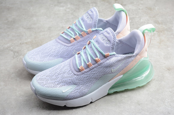 Nike Air Max 270 Oxygen Purple White Washed Coral Women's Shoes Sneakers CI1963-514