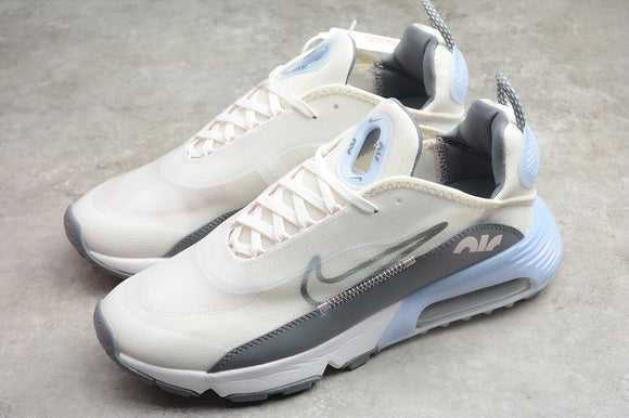 Nike AIR MAX 2090 White Grey Light Blue Men Sneakers Shoes Size 40-45 / 7-11 CT1290-101