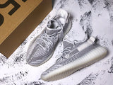 Adidas YEEZY BOOST 350 V2 Non Reflective Static Static Static Men's Women's Running Shoes Sneakers EF2905