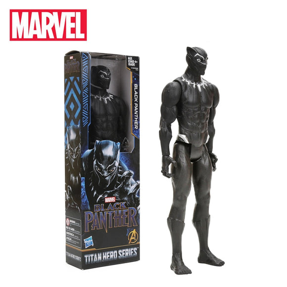 30cm Black Panther PVC Action Figure Titan Hero Series Marvel Toys the Avengers Figures Super Hero Collection Model Dolls Toy - 88digital