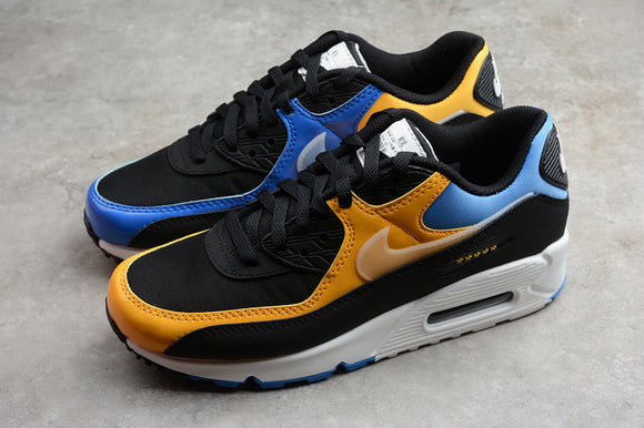 Nike AIR Max 90 City Pack Shanghai Black Pacific Blue University Gold Men Shoes Sneakers CT9140-001