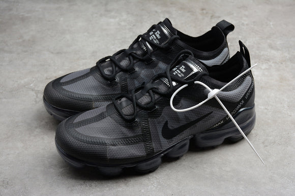 Nike Air Vapormax 2019 Triple Black Black Black Men's Running Shoes Sneakers AR6631-004