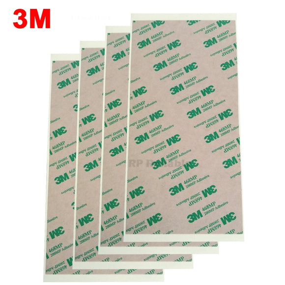 3M (10cm*20cm) 468MP Double Sided Adhesive Clear Sticker for Phone, Tablet, Keyboard, Rubber, Thermal Pad , High Temp Resist - 88digital