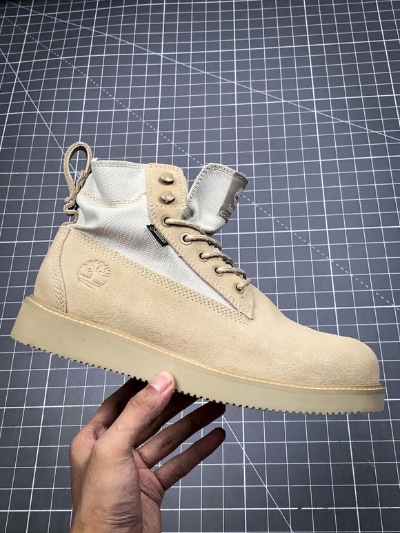 TIMBERLAND MEN X MADNESS Off White White 6 inch Premium Boots Waterproof 76871423