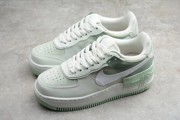 Nike Air Force 1 '07 AF1 07 Low Shadow Spruce Aura White Pistachio Frost Women Sneakers Shoes Size 35-40 / 4.5-8.5 CW2655-001