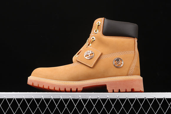 TIMBERLAND MEN WOMEN Classic Hommes X Mastermind Japan Brown 6 inch Premium Boots Waterproof 6736R