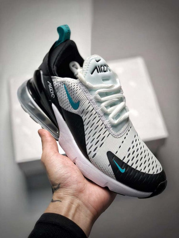 Nike Air Max 270 Black White Dusty Cactus Men's Shoes Sneakers Size 39-45 / 6.5-11 AH8050-001