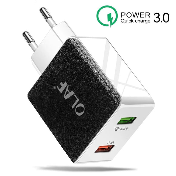 48W Quick Charge 4.0 3.0 USB Charger for iPhone 11 Xiaomi Huawei Samsung QC 3.0 4.0 Fast Charger USB Phone Adapter Fast Charging - 88digital