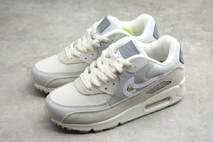 Nike AIR MAX 90 Basement Grey Fog Clear Light Smoke Grey Red Men Women Sneakers Shoes Size 36-45 / 5.5-11 CI9111-002
