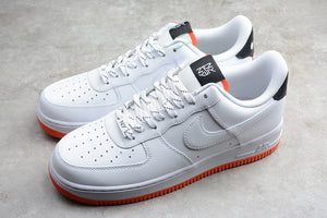 Nike Air Force 1 '07 AF1 Low 07 LV8 NY VS NY Pack White Black Orange Peel Men Women Sneakers Shoes CJ5848-100