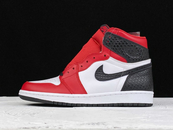 Nike AIR JORDAN 1 Retro High Satin Snake Chicago Gym Red White Black Men Women Shoes Sneakers Size 36-45 / 5.5-11 CD0461-601