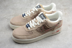 Nike Air Force 1 '07 AF1 Reigning Champ X Low Khaki White Men Women Sneakers Shoes Size 36-45 / 5.5-11 807618-200