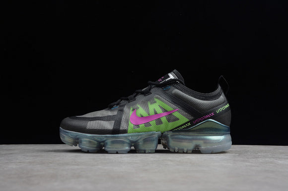 Nike Air Vapormax 2019 Black Active Fuchsia Photo Blue Lime Blast Green Red Men Women Running Shoes Sneakers AT6810-001