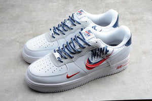 Nike Air Force 1 '07 AF1 Low 07 White Navy Blue Red Men Women Sneakers Shoes Size 36-45 / 5.5-11 CT1138-133