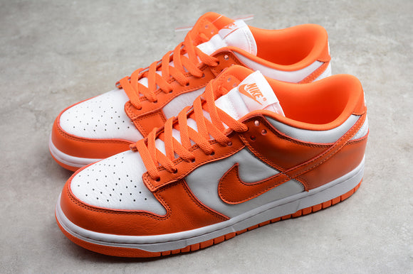 Nike Dunk Low SP Syracuse White Orange Men Women Sneakers Shoes CU1726-101