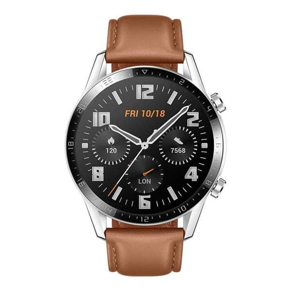 Original Huawei Watch GT2 Men Fashion Latona B19V Brown
