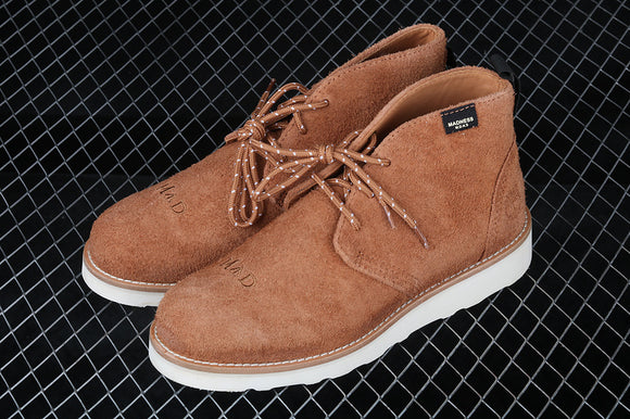 TIMBERLAND MEN Hommes MADNESS X Light Brown Suede Premium Boots Waterproof TB0A1UJD