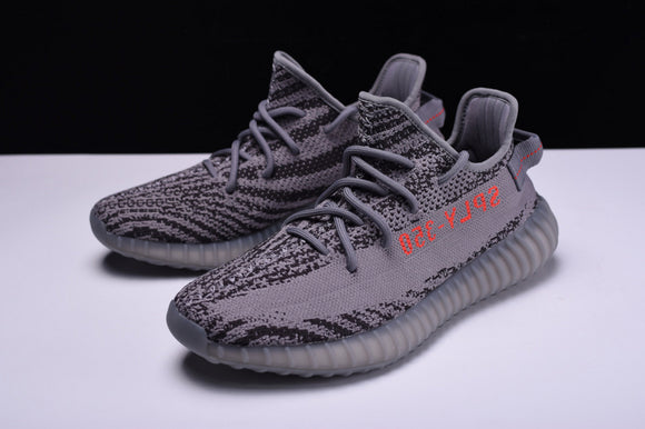 Adidas YEEZY BOOST 350 V2 Grey Black Zebra Beluga 2.0 Grey Bold Orange Dark Grey Men Women Shoes Sneakers AH2203
