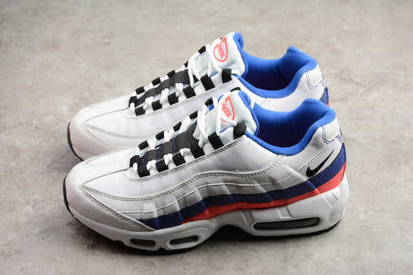 Nike AIR MAX 95 Essential White Black Solar Red Men Women Shoes Sneakers Size 36-45 / 5.5-11 749766-106