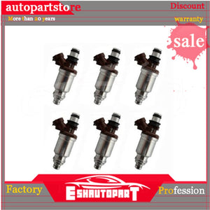 6pcs Fuel Injector Nozzle For Toyota Lexus SC300 GS300 OEM:23250-46030 23209-46030 2325046030 2320946030 - 88digital