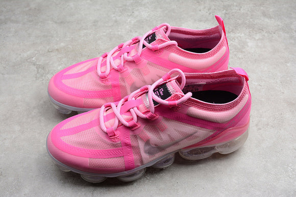 Nike Air Vapormax 2019 Pink Rose Active Fuchsia Psychic Pink Women's Running Shoes Sneakers AR6632-600
