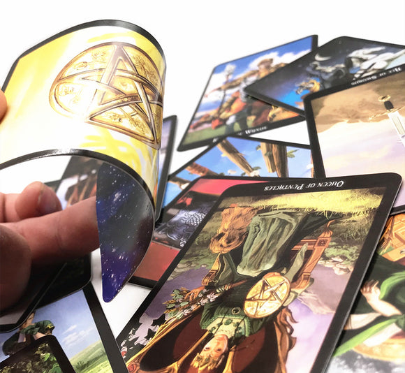 78 cards/set   Mystic Tarot Deck cards board game read the mythic fate divination for fortune witch card game - 88digital