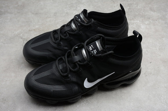 Nike Air Vapormax 2019 Black Black White Men's Women's Running Shoes Sneakers AR6631