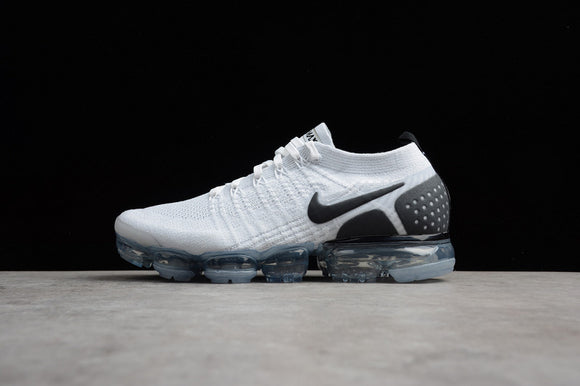 NIKE AIR VAPORMAX FLYKNIT 2.0 White Black Reverse Orca Men Women Shoes Sneakers 942842-103