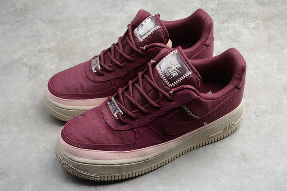 Nike Air Force 1 '07 SE AF1 Night Maroon Low 07 SE Coral Dust Women Sneakers Shoes AA0287-603