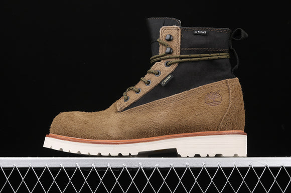 TIMBERLAND MEN Classic MADNESS X Khaki Suede Brown 6 inch Premium Boots Waterproof TBA1UJ3F49