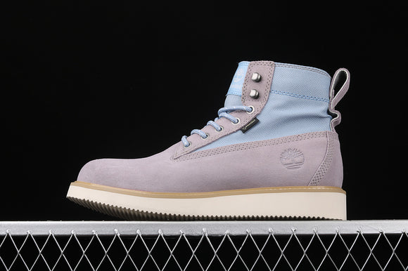 TIMBERLAND MEN MADNESS X Grey Light Blue Suede Gore-Tex Fabric 6 inch Premium Boots Waterproof TB0A1QC6