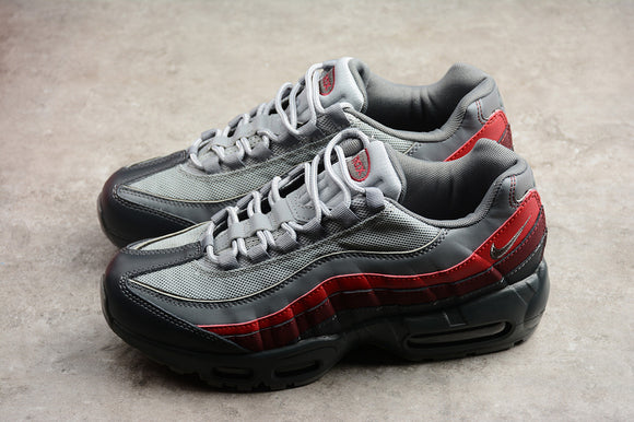 Nike AIR MAX 95 Anthracite Grey Red Men Shoes Sneakers Size 40-44 / 7-10 749766-025