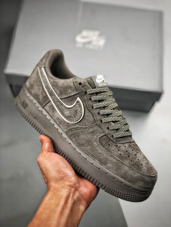 NIKE AIR Force 1 '07 AF1 Low Upset Grey White White Men Shoes Sneakers Size 39-45 / 6.5-11 A1118-003