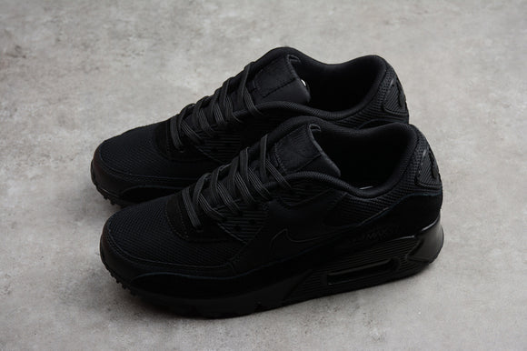 Nike AIR Max 90 Triple All Black Black Black Men Women Shoes Sneakers Size 36-45 / 5.5-11 325213-043