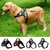 Adjustable Big Dog Harness Collar for Large Medium Small Dog Harnesses Vest Husky Dogs Supplies - 88digital