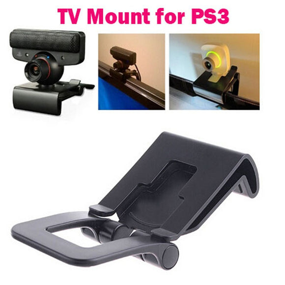 Adjustable TV Clip Bracket Mount Holder Stand For Sony Playstation 3 for PS3 Move Controller Eye Camera - 88digital