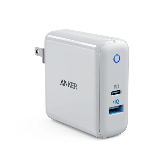 Anker USB C Charger, PowerPort Speed+Duo Wall Charger with 30W Power Delivery Port for iPhone,iPad Pro,MacBook,Galaxy and more - 88digital
