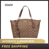 Authentic Original & Brand new Coach Small Kelsey Satchel In Signature Canva Women's Bag F28989 ship by USPS USA - 88digital